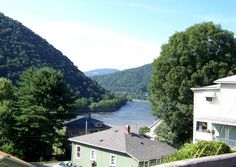 Image detail for -New River from Temple Street in Hinton, West Virginia