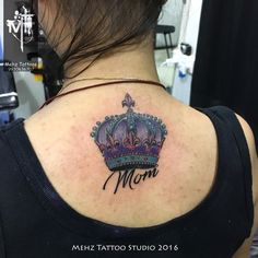 Crown Back Tattoo done by Mahesh Amin at Mehz Tattoo Studio.  Hope you guys like this too :) Your Views, Comments and Shares would be appreciated !  For more information visit and like us at - Mehz Tattoo Studio . Mumbai. India www.mehztattoostudio.com