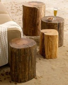 Wood Block Side Tables at Horchow. Wood Block Side Tables at Horchow. Wood Block Side Tables at Horchow. Log Side Table, Trunk Side Table, Tree Trunk Table, Wood Stump Side Table, Log End Tables, Reclaimed Wood Side Table, Garden Side Table, Fire Table, Rustic Table