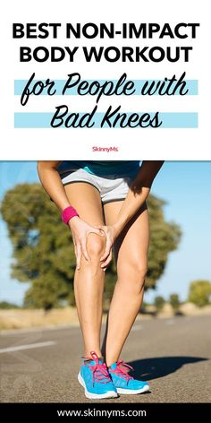 Best Non-Impact Body Workout for People with Bad Knees - Healty fitness home cleaning Fun Workouts, At Home Workouts, Beginner Workouts, Workout Fun, Body Workouts, Workout Plans, Workout Routines, Post Workout, Week Workout