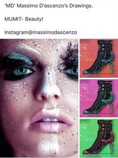 'MD' Massimo D'ascenzo Beautiful Designs. MUMIT FOOTWEAR BY Massimo D'ascenzo.   'MUMIT' - Beauty!  Instagram@massimodascenzo  www.massimod.com  #luxury#jewellery#handbags#love#fashionAddict.  https://www.facebook.com/pages/ Massimo-Dascenzo-Luxury-Jewellery-Handbags/485052561622939?ref=hlj