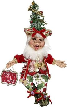 Vintage Christmas, Country Christmas figurines, Old Fashioned Christmas ornaments and retro Christmas party decorations. Find Christmas decorating ideas here! Christmas Tree Hat, Christmas Fairy, Christmas Figurines, Christmas Past, Retro Christmas, Christmas Carol, Family Christmas, Mark Roberts Elves, Traditions To Start
