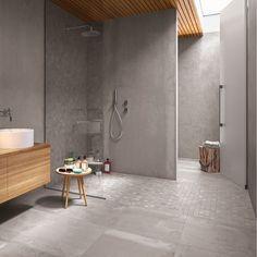 Pikkukuva betoni 1 Home Spa, Bathroom Inspiration, Bathroom Ideas, Amazing Bathrooms, Home Projects, Bathtub, House Design, Interior Design, Home Decor