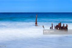 SS Dickey Shipwreck on Sunshine Coast, Queensland Australia.