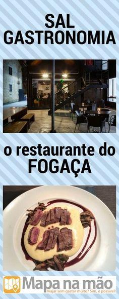 Review: Sal Gastronomia, o restaurante do Fogaça - o chef do Master Chef