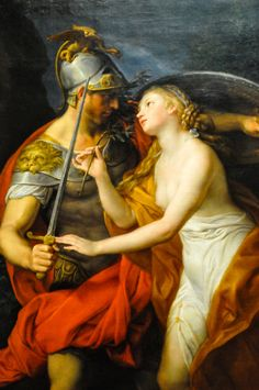 Pompeo Batoni - Allegory of Peace and War, 1776,   an Allegory of Peace and War  Date1776Mediumoil on canvasDimensions136 × 99 cm (53.5 × 39 in)Current location  Art Institute of Chicago