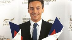 Tom Daley elected as the #BritishSwimmers of the year 2015 an #Olympic bronze medalist