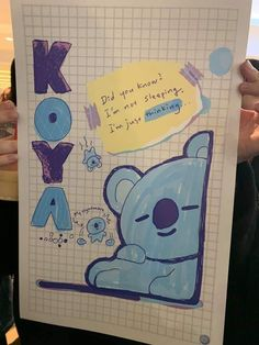 Koya is cuteness while thinking 😘 Bullet Journal Cover Ideas, Bullet Journal Inspiration, Kpop Diy, Bts Book, Bullet Journal Aesthetic, Kpop Drawings, Line Friends, Bts Chibi, I Love Bts