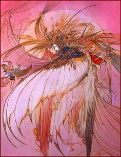 Японский художник-иллюстратор Еситака Амано
