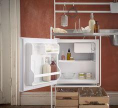 TILLREDA Køleskab A+, hvid