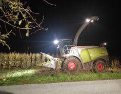 Hofheld-Bloggerin Fräulein Deere hat vor ein paar Tagen den Mais und das letzte Gras siliert und das alles für Dich festgehalten.