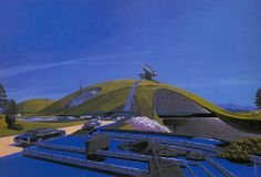 na is a platform for connecting ideas and building knowledge. Syd Mead, Environment Design, Blade Runner, Sci Fi Art, Futuristic, Concept Art, Fair Grounds, Tumblr, Landscape