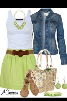 Very comfy casual outfit.  Great for spending the day shopping with the girls or lunch with your man,