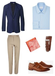 """#1"" by hyzirt on Polyvore featuring PS Paul Smith, River Island, Express, Prada, Armani Collezioni, HUGO, men's fashion и menswear"