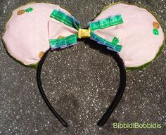 Disney Dole Whip Inspired Mickey Mouse Ears by BibbidiBobbidis on Etsy Disney Costume