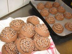 Crochet cinnamon buns