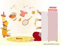 Texto: Diana Ilustração: Rita A Primavera é uma desculpa perfeita para arrumar. Deitar fora o que não se precisa, sacos e sacos cheios de lixo que, ainda não sabem, mas estáguardado em vossa casa,…