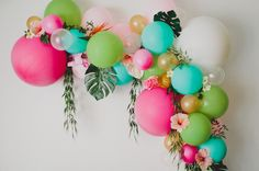 Did you catch today's Tropical-Inspired Bridal Shower? You may have noticed the gorgeous, colorful balloon arch at the shower – and now we are sharing how to make your own! Not only do we love balloons here are GWS, but we're huge fans of Afloral – our silk flower partner for this project (and SO many others)! For...