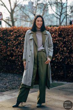 London FW 2019 Street Style: Eva Chen - STYLE DU MONDE   Street Style Street Fashion Photos Eva Chen