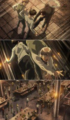 Ymir, Ereri, Otaku Anime, Manga Anime, Anime Art, Attack On Titan Funny, Attack On Titan Anime, Mikasa, Humanoid Creatures