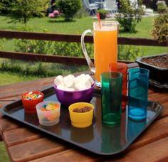 vasos de policarbonato, bowl mini colación, bowl ensaladera, bandeja color