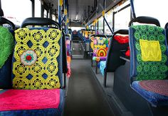 y mi madre se subio al bus #crochet #ganchillo
