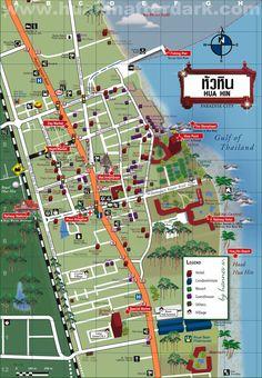 Hua Hin City Map
