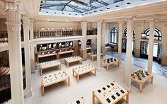 apple store, paris