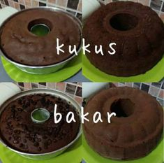 Easy Cake Recipes, Brownie Recipes, Baking Recipes, Snack Recipes, Dessert Recipes, Bolu Cake, Pandan Cake, Resep Cake, Steamed Cake