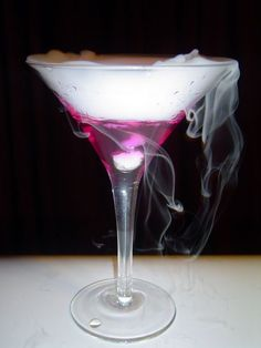 Color changing Martini...step by step instructions...cool