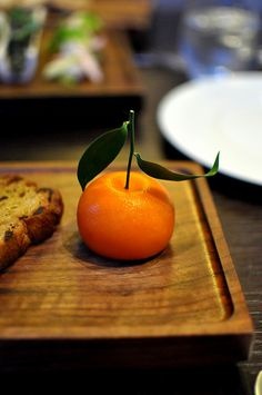 Recipe 100: Meat Fruit.  Heston Blumenthal & Ashley Palmer-Watts. 2011. The menu @ Dinner (London) England. Everything old is new again. The Fat Duck was Blumenthal's experimental lab, but many of his recipes @ Dinner are a kiss to England's past, making it a hit.