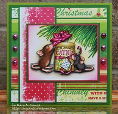 House Mouse greeting card