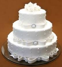 Resultado de imagen para tortas de bodas sencillas