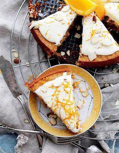 Carrot cake meringué sans gluten