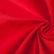 Lollipop Red Silk-Wool Satin Faced Twill
