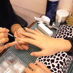 Leopard Hand Kissen für Maniküre Nagel Art