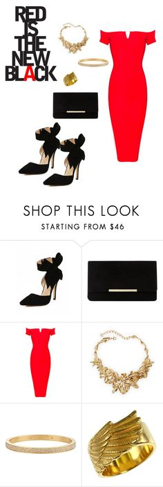 """""""Sin título #134"""" by karlamichell ❤ liked on Polyvore featuring Dune, Oscar de la Renta and Henri Bendel"""