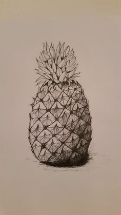 I have always considered myself to be creative, but not arty. Basically, I can come up with creative ideas but I could never draw very well. I Tried, Pineapple, Drawings, Creative, Drawing, Portrait, Paint, Paintings, Doodle