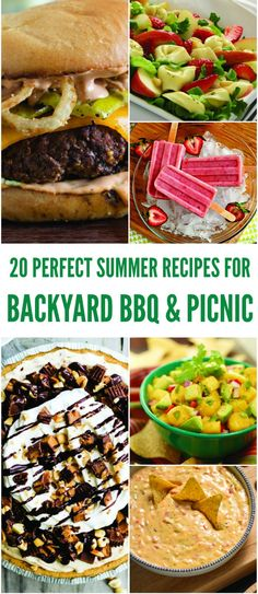 My favorite part of summer are those lazy summer evenings... absolutely perfect for gathering with friends and sharing these easy picnic recipes.