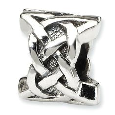Sterling Silver Reflections Celtic Bead Real Goldia Designer Perfect Jewelry Gift goldia. $18.25