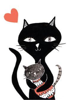 Becky Baur black cats
