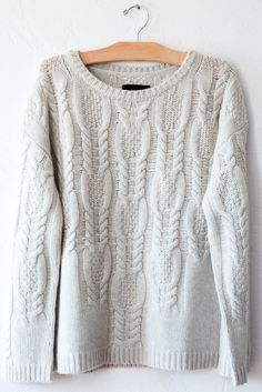 nili lotan feather cable pullover – Lost & Found