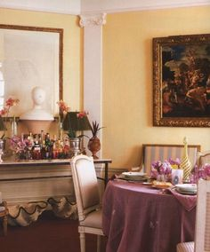 FESTIVE DINING ROOMS | Mark D. Sikes: Chic People, Glamorous Places, Stylish Things
