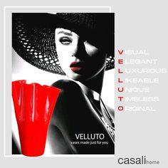 VELLUTO este un obiect decorativ din cristal, foarte ușor, lăcuit manual. Poate fi personalizat cu propriul nume, numele companiei sau altele. VELLUTO conține un dispozitiv de iluminat cu LED, multicolor, hidrofug, cu telecomandă multifunctionala. Design-ul este semnat de FABIO CASALI pentru Casali Home. #interiordesignideas #fineinteriors #madeinitaly🇮🇹 #interiormoments #glassobjects #passioniseverything #designaddict #vazasticla #vaza #decorinterior #vazaled #led #casalihome #decorlovers