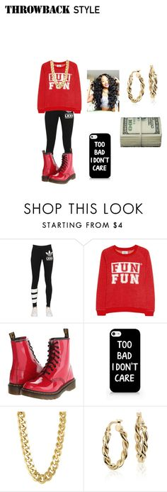 """Untitled #97"" by jay2250 ❤ liked on Polyvore featuring adidas Originals, Zoe Karssen, Dr. Martens, CC SKYE and Blue Nile"