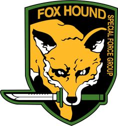 Foxhound emblem from the game Metal Gear Solid.