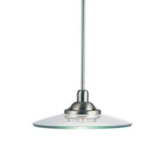 Kichler Pendant Lighting | Galaxie Pendant 1 Light Incandescent, Brushed  Nickel (2643NI)