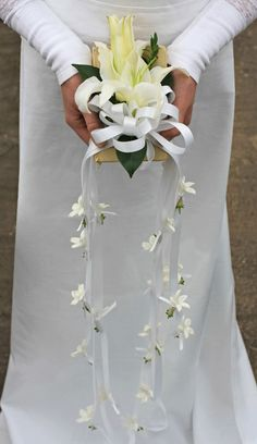 Prayer Book Wedding Bouquet: Prayer Book Bridal Bouquets Are a Traditional Choice for Devout Brides.