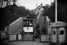 Funicular de la exposicion de 1929 , foto Roisin , fondo IEFC