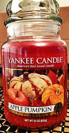 Apple Pumpkin Yankee Candle